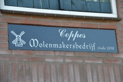 Bouw molen Coppes 1