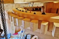 Bouw voorbereiden plaatsen molensteen 5
